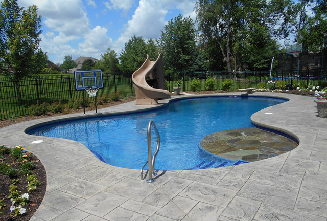 Free Form Pools Modern Pool Chicago By Barrington Pools