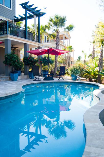 Free Swimming Pool: Free Form Swimming Pool Design In Mt. Pleasant, SC