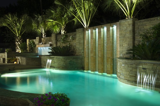 Freeform Eclectic Pool Dallas By Pool Environments Inc