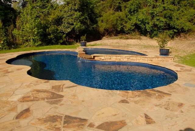 Freeform Pools traditional-pool