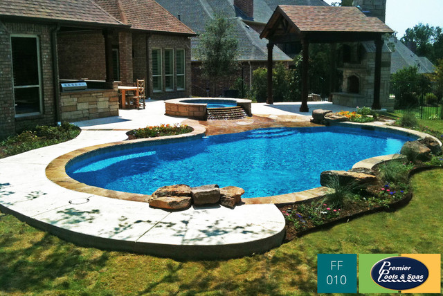 Freeform Swimming Pools Contemporary Pool Austin