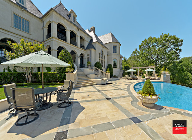 Private Residence - French Formal Luxury traditional-pool