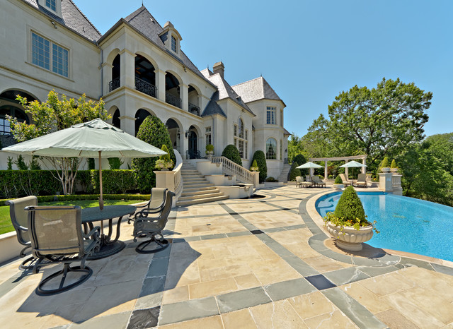 Private Residence - French Formal Luxury traditional pool