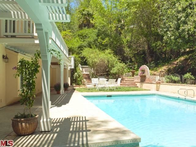 French country renovation pool woodland hills ca for Pool design regrets