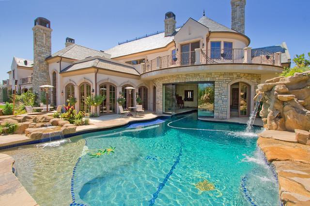 French Estate - Mediterran - Pools - Los Angeles - von Arc ...