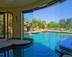 French Estate mediterranean-pool