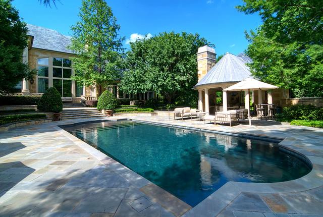 Modelo de piscina clásica rectangular