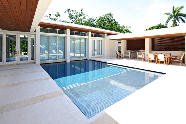 From the ground up east fort lauderdale contemporary for Pool design fort lauderdale