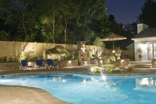 Full Backyard Overhaul contemporary-pool