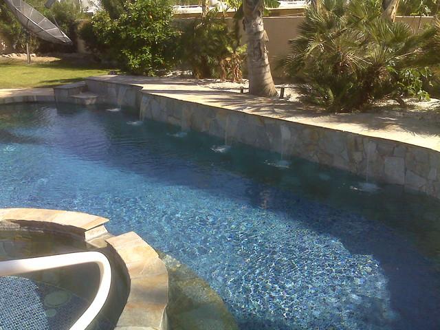 Backyard With Pool Remodel : Full PoolSpa & Backyard Remodel traditionalpool