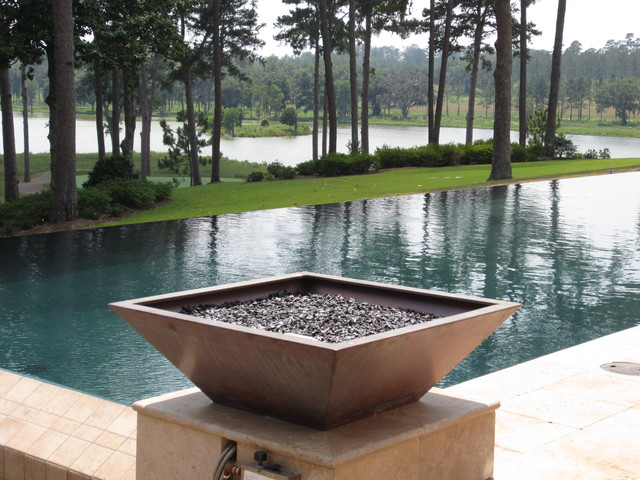 Fully loaded modern pool by mystic pools for Quick pool obi