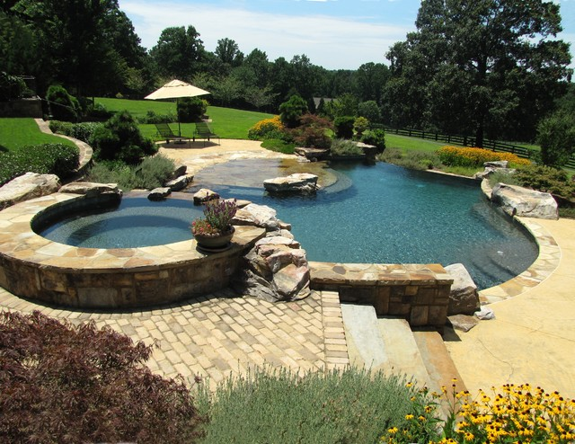 Gainesville Pool Rustic Pool Atlanta By Master Pools By Artistic Pools Inc