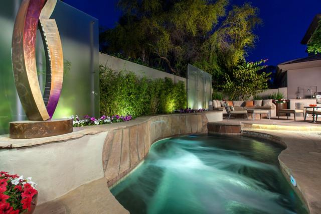 Gainey Village Home Contemporary Pool Phoenix By Chimera Interior Design