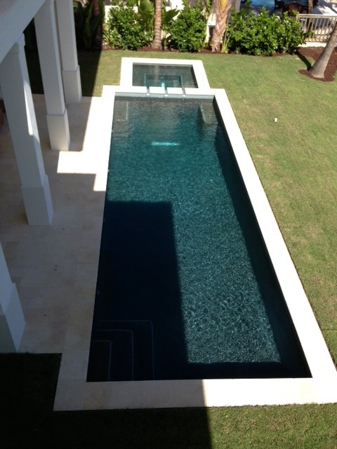 Galala Cream Limestone Paver And Pool Coping Project