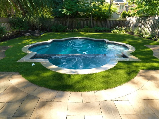 Small Concrete Pools  Contemporary  Pool  toronto  by Betz Pools