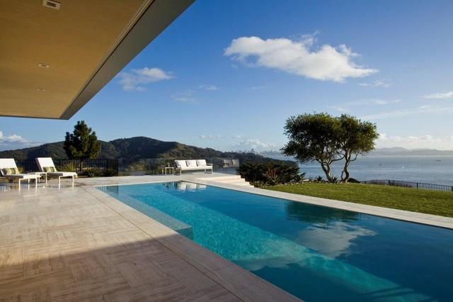 garay residence tiburon california beach style pool san francisco by jamba construction