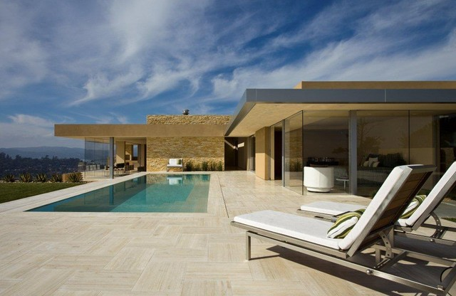 Garay Residence, Tiburon, California modern-pool