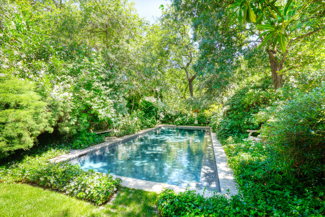 Garden House eclectic pool