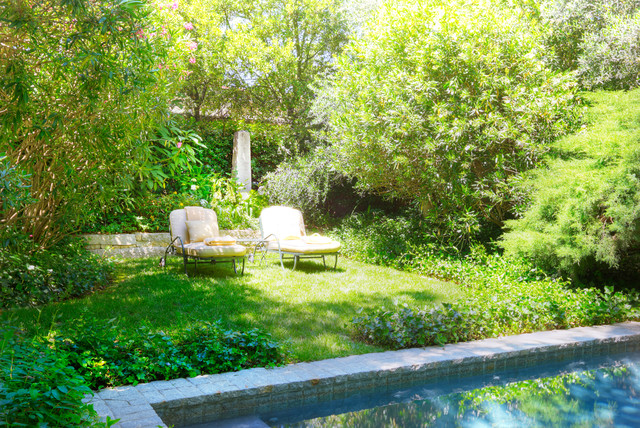 Garden House eclectic-pool