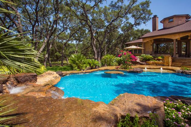Garden in the Ridge tropical-pool