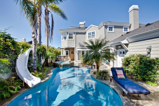 Gary Lane Traditional Pool Los Angeles By Lane Design Build