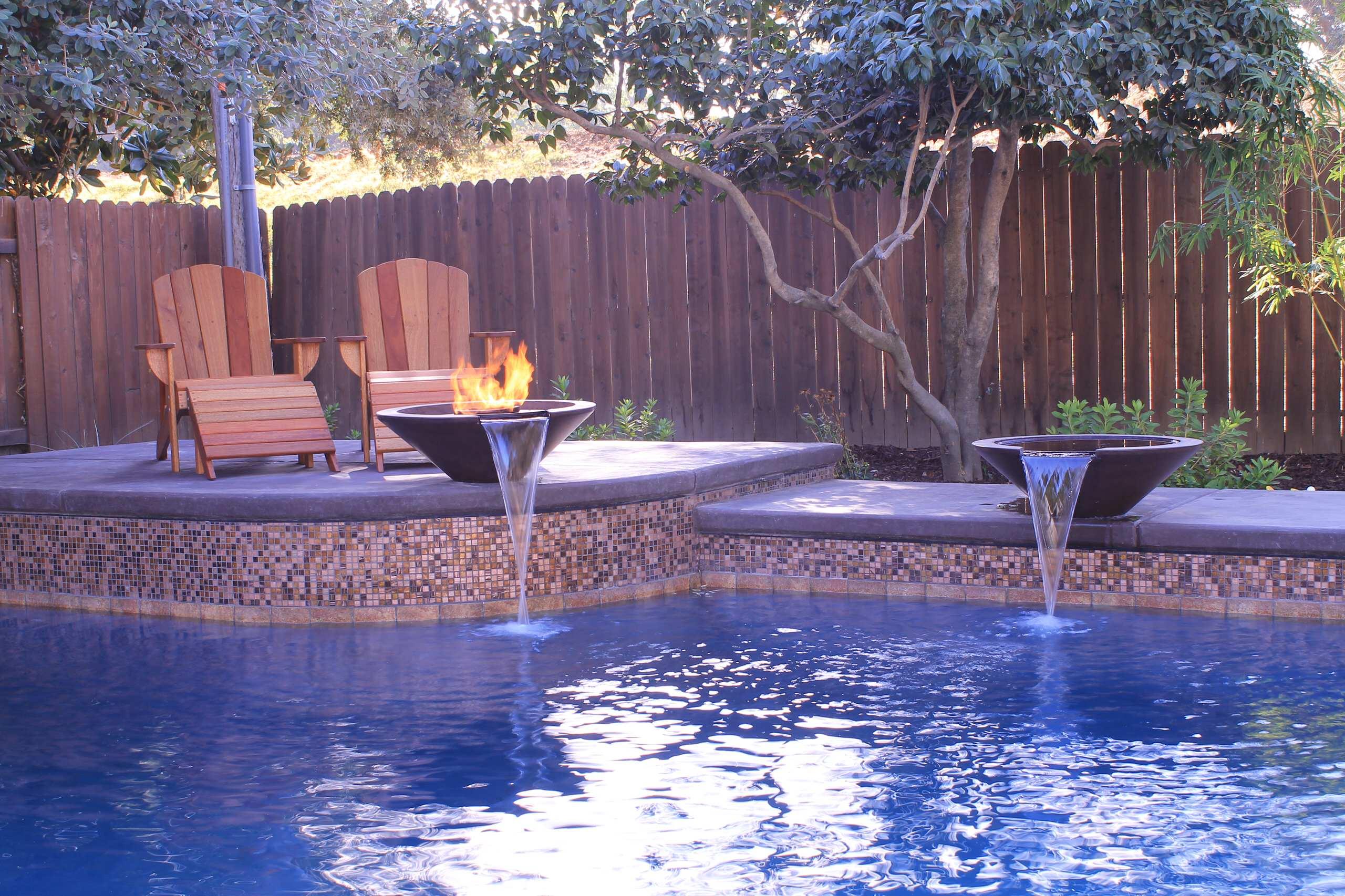 Geometric pool, Sacramento