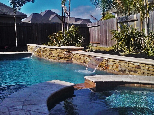 Most popular backyard design in houston texas joy studio for Pool design houston tx