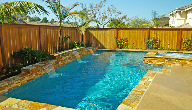 Geometric Swimming Pools - Transitional - Pool - Miami - by ...