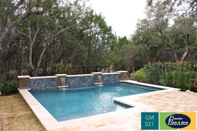 Geometric Swimming Pools Pool Other By Premier Pools Spas Of San Antonio