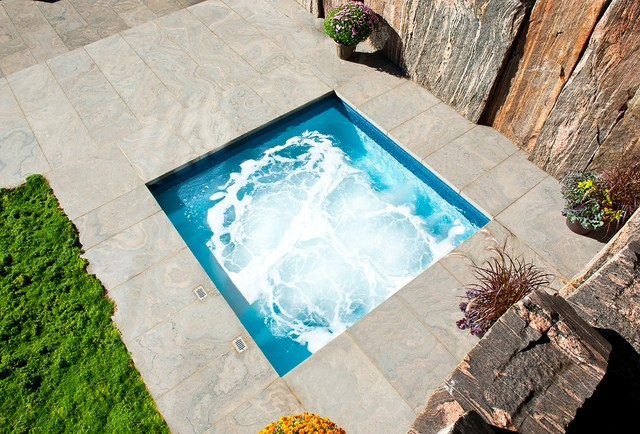 Gib San Pools Ltd Modern Pool Toronto By Gib San Pool Landscape Creations