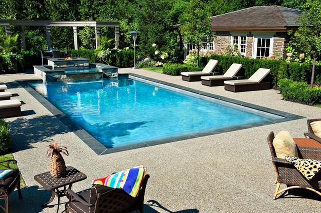 Gib san pools ltd traditional pool toronto by for Garden spas pool germantown tn