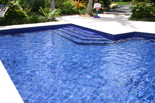 Glass Tile Pools Contemporary Pool Miami By Foreverpools