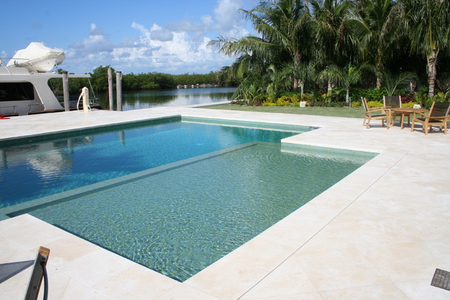 Glass Tile Pools contemporary-pool