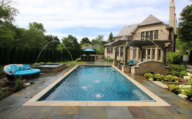 Glencoe Pool and Spa traditional-pool