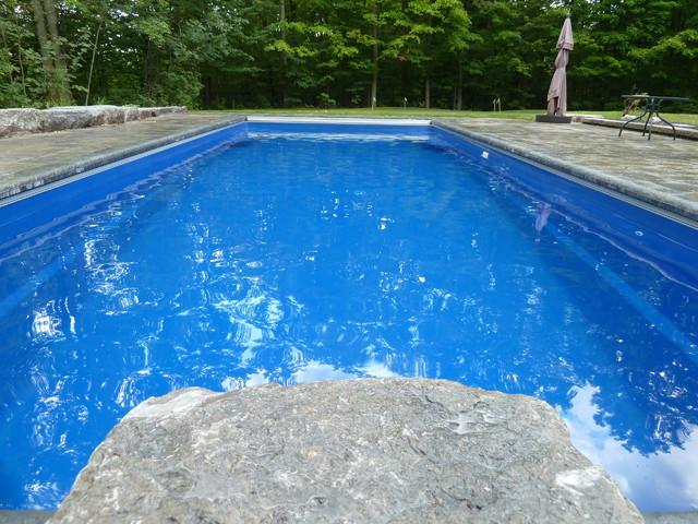 Goliath 41 Fiberglass Swimming Pool Traditional Pool Toronto By Thursday Pools Llc