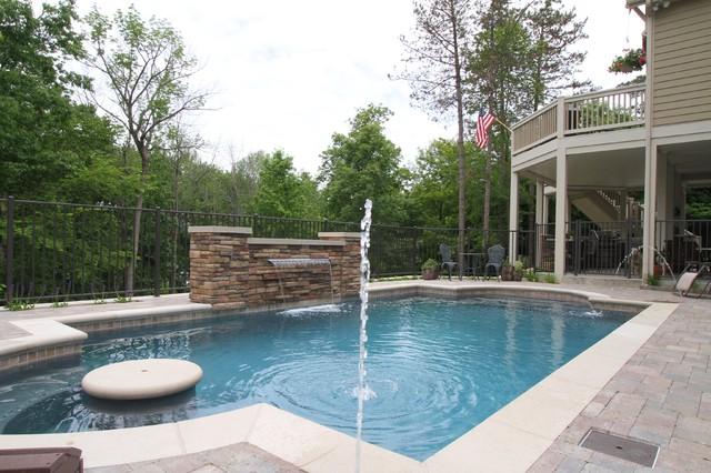 Grand Rapids Pool contemporary-pool
