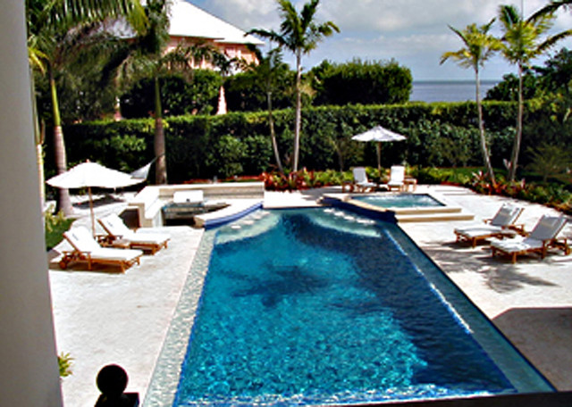 Grant residence miami eclectic pool portland by for Miami vice pool design