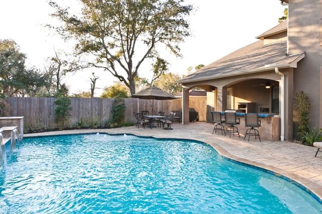 Great Outdoor Spaces mediterranean-pool