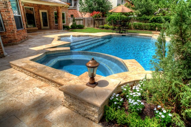 Grecian - Roman Style Pool 1 - Pool - Houston - by ...