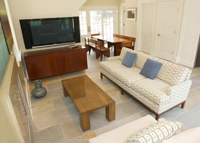 Greenwich CT Pool House Bamboo Furniture