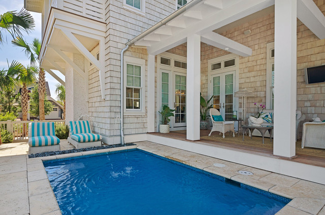 Guernsey Residence Beach Style Pool Miami By Geoff