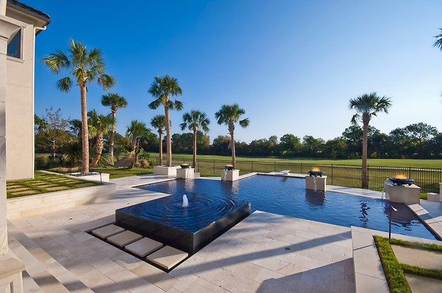 Guido Custom Homes, Inc contemporary-pool