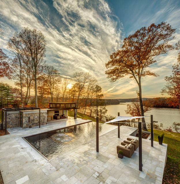 hamburg cove klassisch pools new york von nautilus architects llc. Black Bedroom Furniture Sets. Home Design Ideas