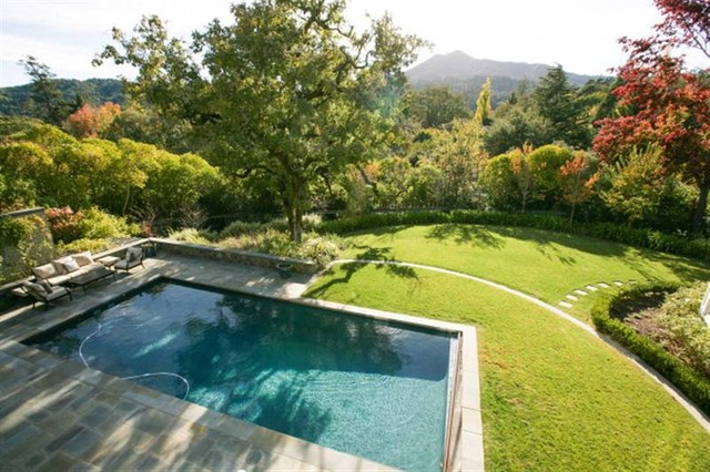 HAMPTON STYLE GARDEN   Traditional   Pool   san francisco   by