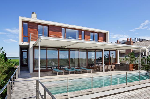 Hamptons beach house beach style pool new york by for Hamptons beach house for sale