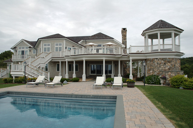 Hamptons Beach House Style Pool New York By