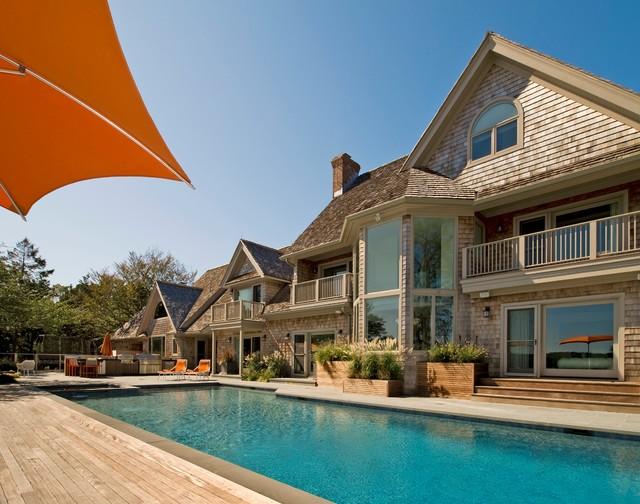Hamptons house beach style pool new york by david for Pool design hamptons