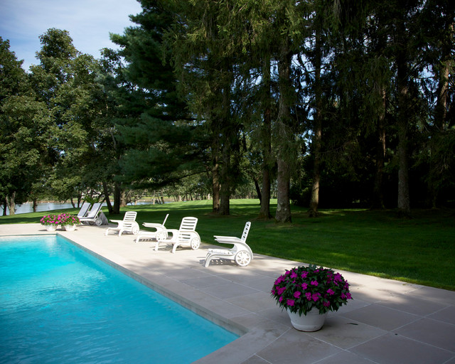 Hamptons residence traditional pool new york by for Pool design hamptons