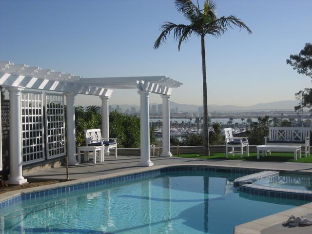 Harborview pool beach-style-pool