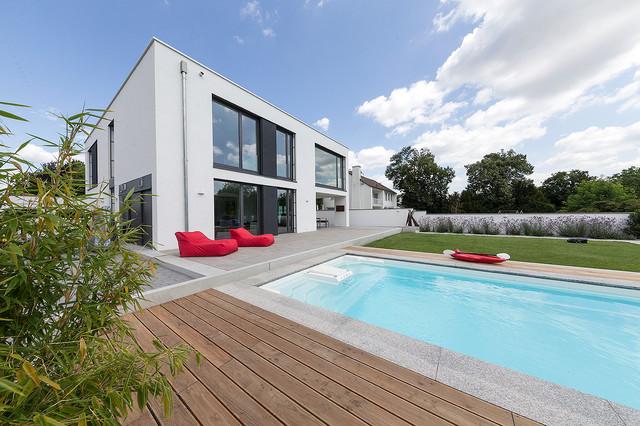 haus sw modern pools berlin von bau werk stadt. Black Bedroom Furniture Sets. Home Design Ideas